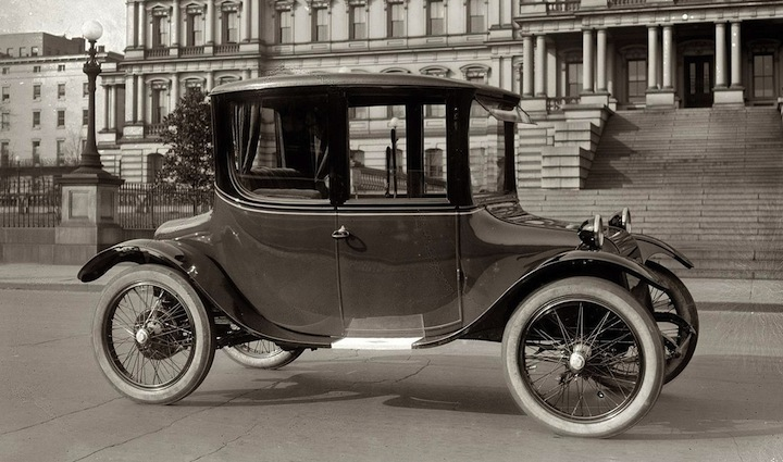 The Electric Car Was More Than Niche Vehicle Early In Century