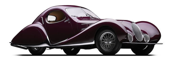 Famous French Car Wins Best Of The Best Award At Monterey Car Week
