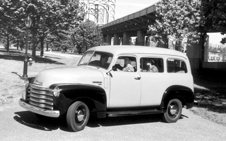 2015 marks 80 years of Chevrolet Suburban, the original ...
