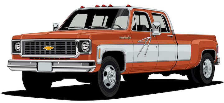 Chevy Celebrates 100 years of iconic truck design | Abandoned Cars