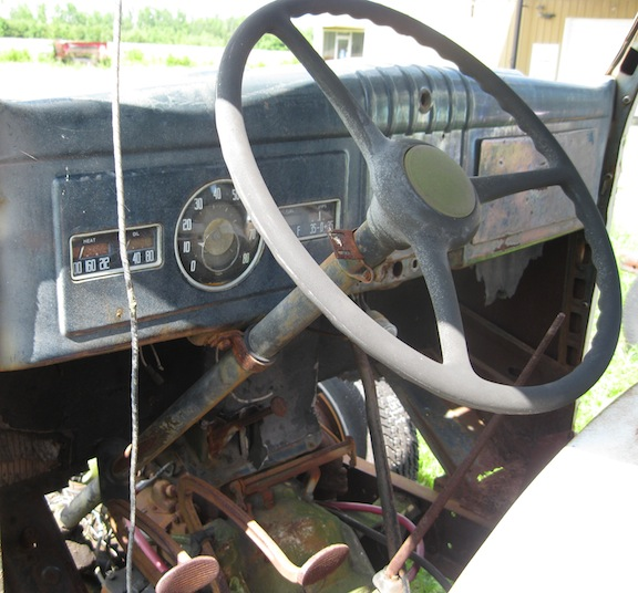 Dodge Truck Interior on 1946 chevy suburban
